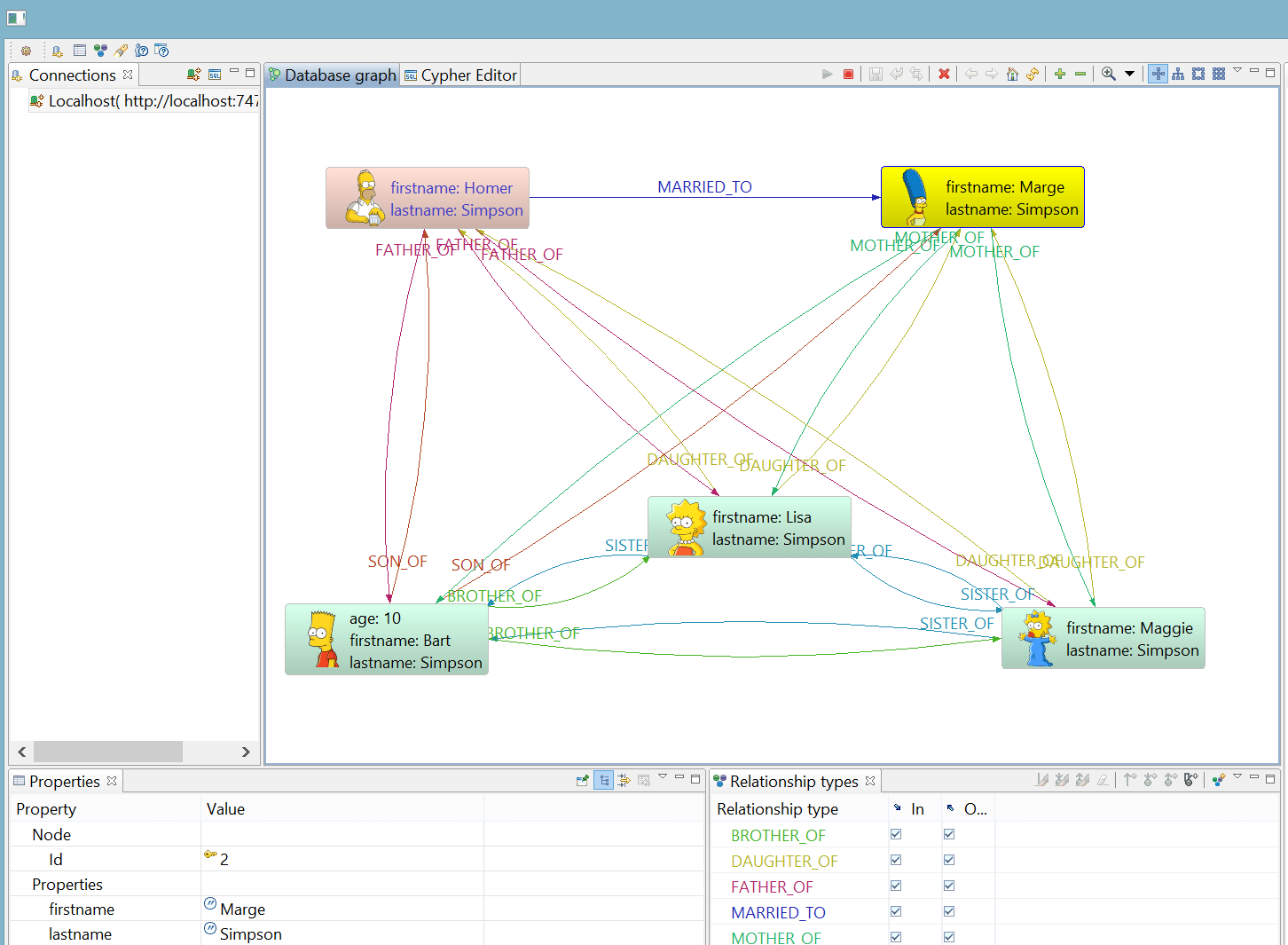 Visual Tools For Neo4j