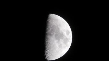 Der Mond heute Abend…