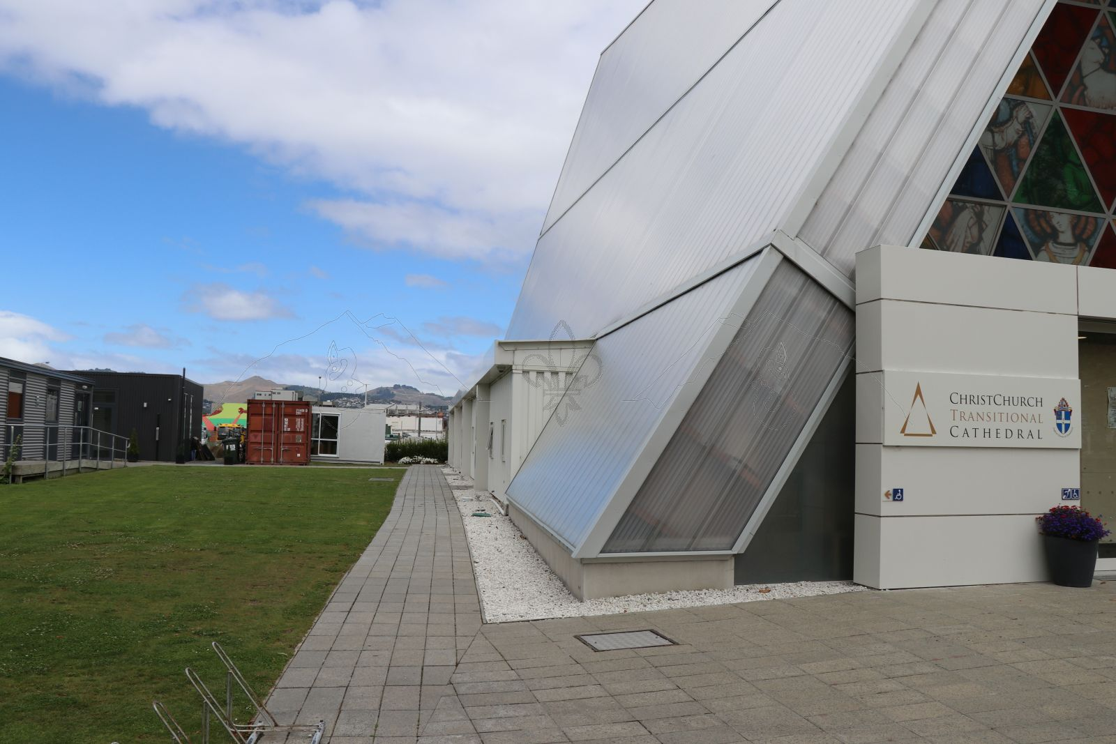 Christchurch – ChristChurch Transitional Cathedral – die Übergangskathedrale …