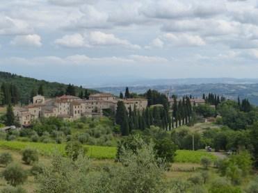 Blick vom Balkon - La Foresteria del Boccone