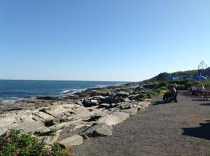 Meer und Sonne beim Hummer essen