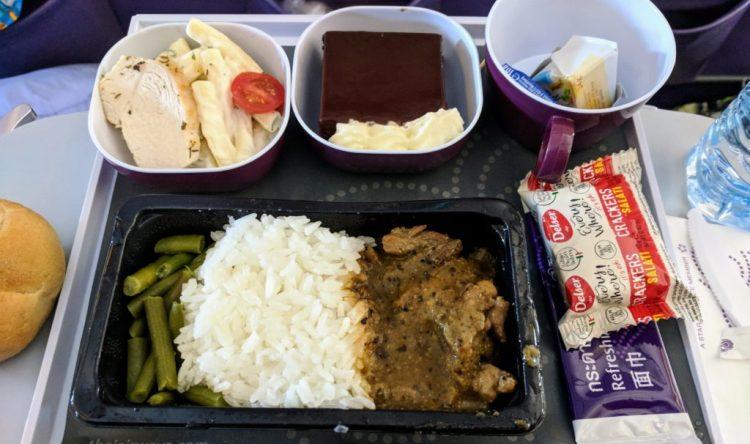 Thai Airways - Muh Phad Gratiam Prik Thai