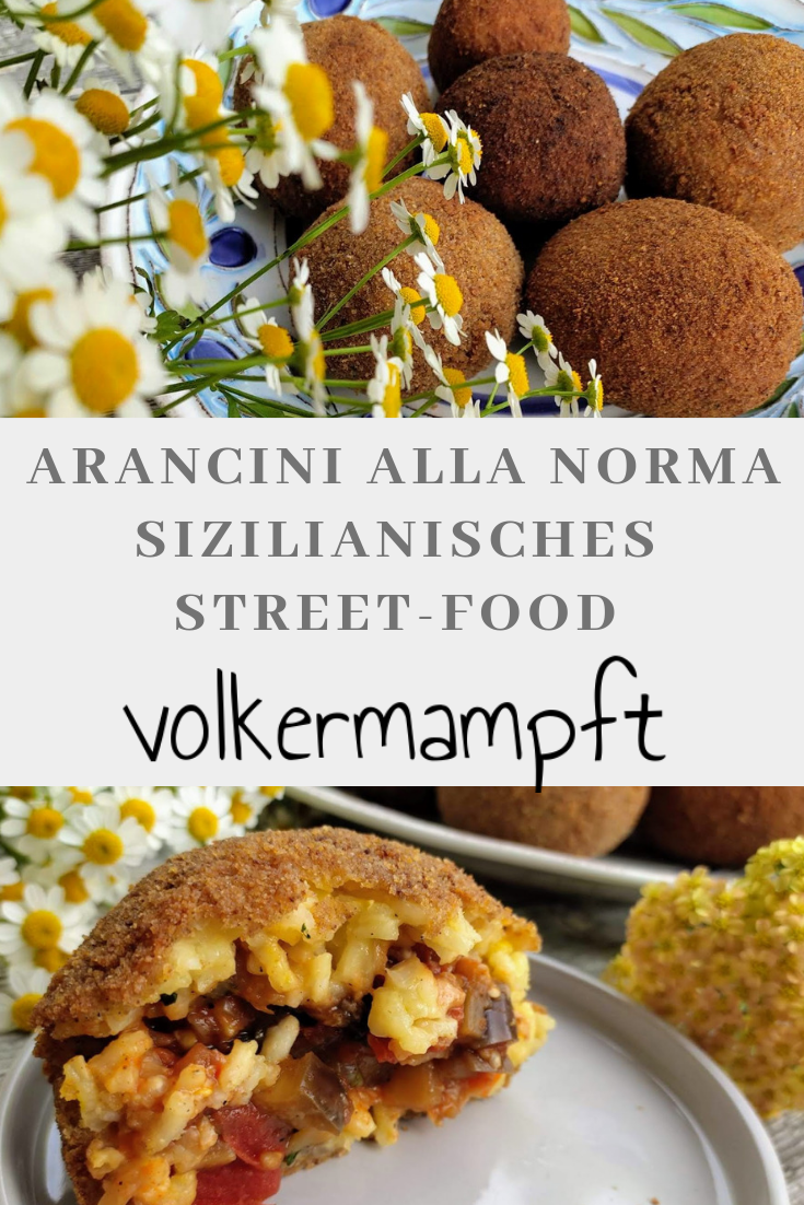 Pinterest Arancino di riso - das sizilianische Street-Food Highlight