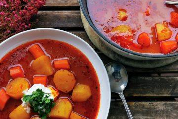 Paprikas krumpli - ungarische Kartoffelsuppe