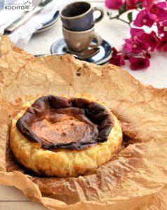 San Sebastian Cheesecake (von kochtopf.me)