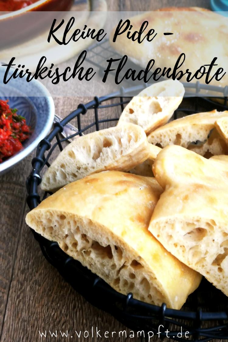 Pintererst - No Knead Pide - kleine türkische Fladenbrote ohne kneten