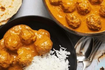 Meatball Curry - sri-lankische Hackbällchen