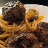 Bucatini con Polpettoni - Pasta mit Fleischbällchen