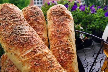 Subway Sandwiches - Rezept mit (süßem) Sauerteig