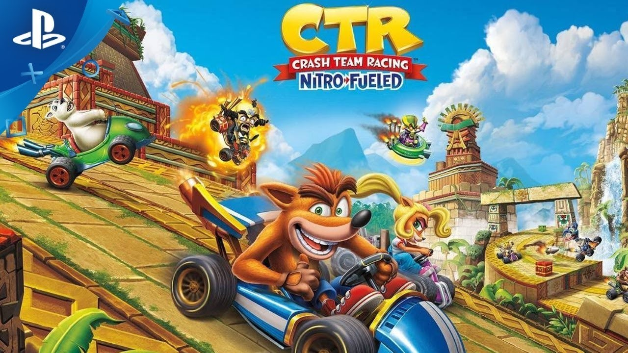 Crash Team Racing PS4 Volk