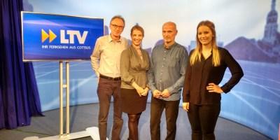 Andreas Zenker, Kathleen Urbanski, Volkmar Schöneburg, Christin Ertner (v.l.n.r.)