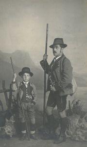 Mautner mit Sohn