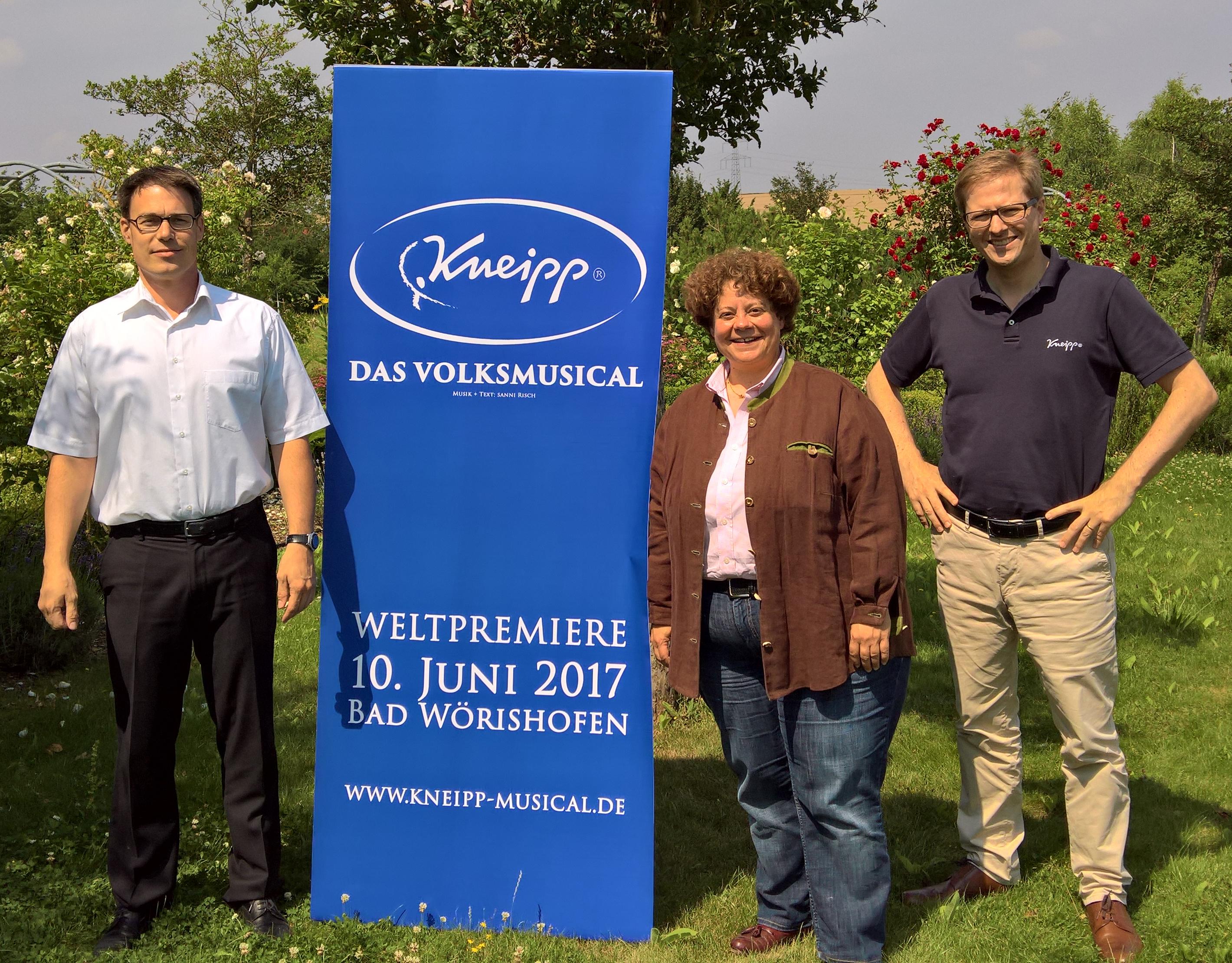 KNEIPP GmbH Würzburg offizieller Partner / Offizielles Logo vorgestellt