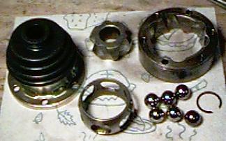 clean CV components