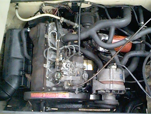 Engine Conversion- Diesel to Gas VW | Vanagon com