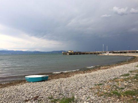 Boot und Bucht