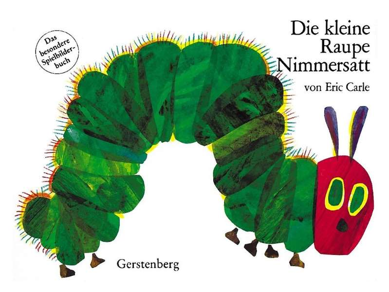 Buch- Raupe Nimmersatt