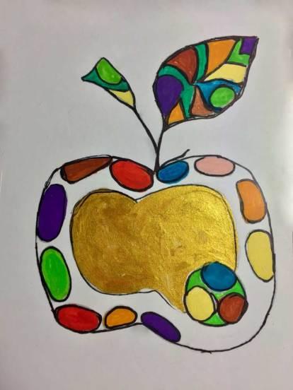 ganzer Apfel