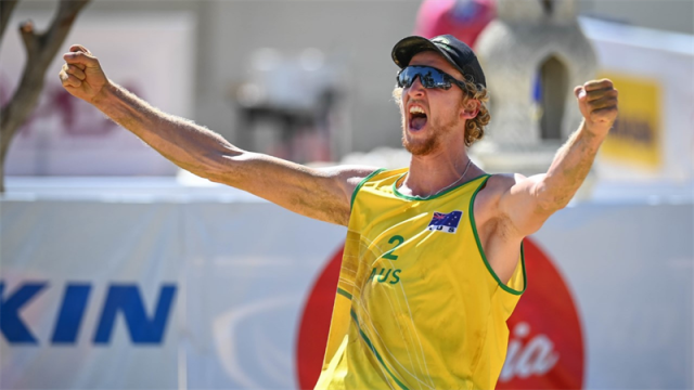 AUSSIES MEN BEACH VOLLEYBALL TEAMS THROUGH TO AVC CONTINENTAL CUP FINALS