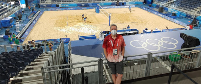 Australian referee proud to be part of the Olympics again