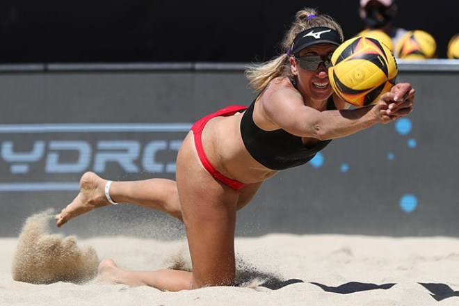 3-part interview with beach volleyball Olympian April Ross, who is training  in Brazil