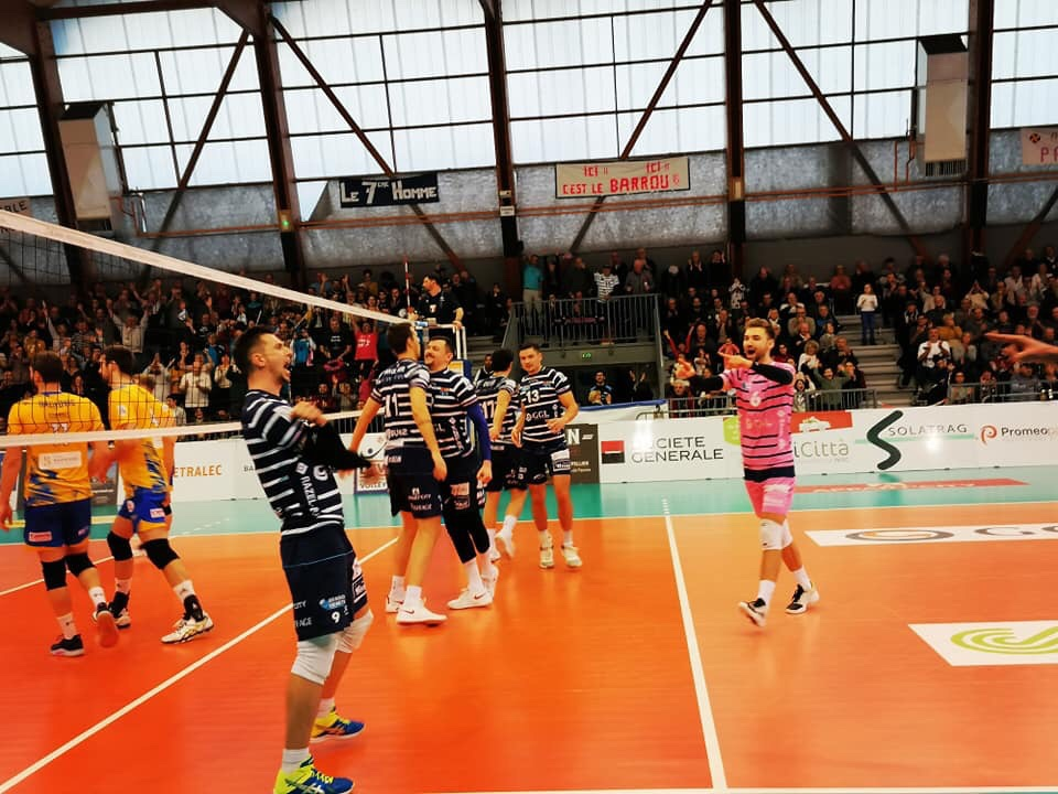 France: Sete destroys Nice in the last match of Round 17