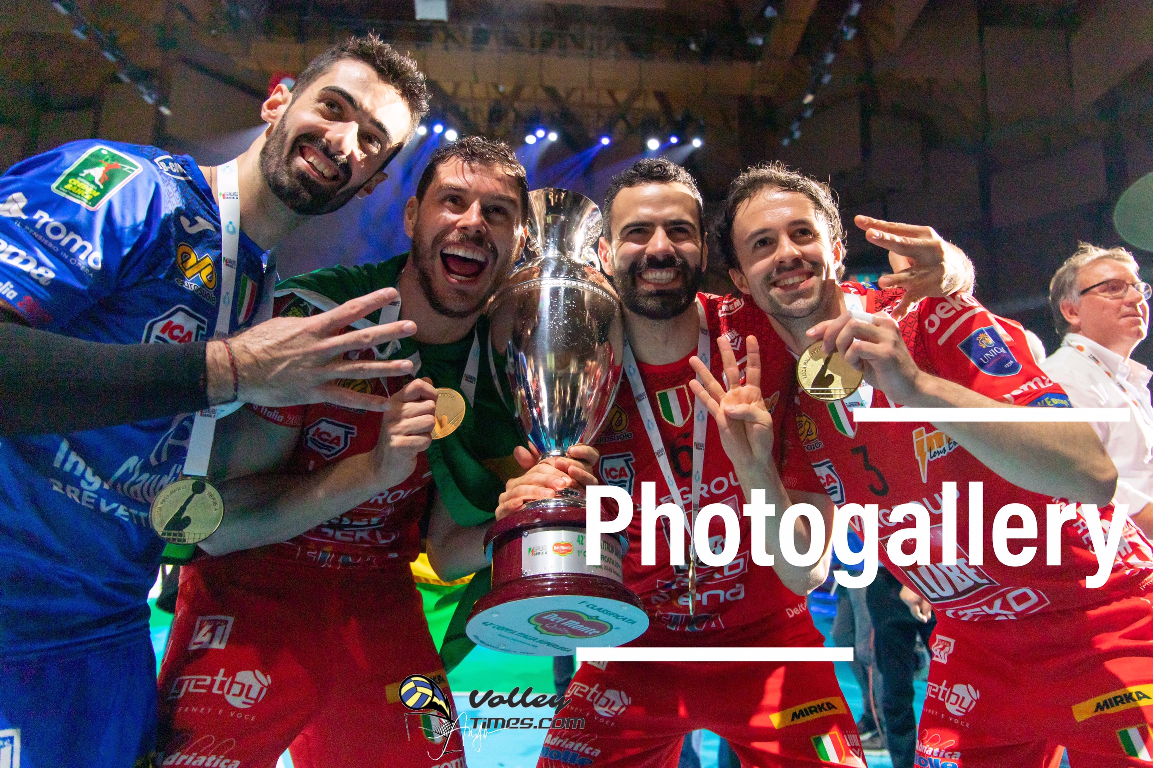 Coppa Italia: Photogallery of Cucine Lube Civitanova – Sir Safety Conad Perugia