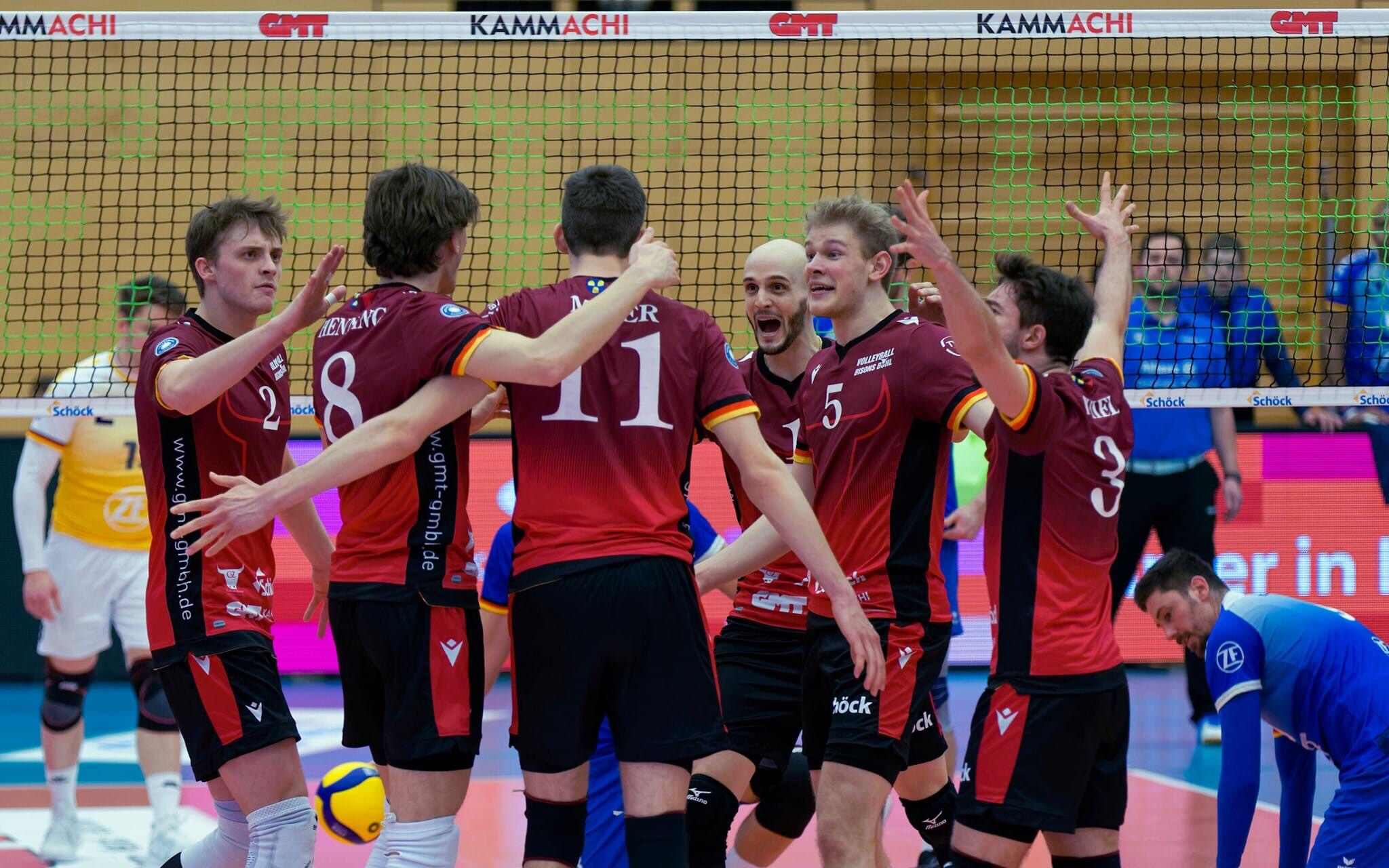 Germany: Volleyball Bisons Buhl withdrew from Bundesliga