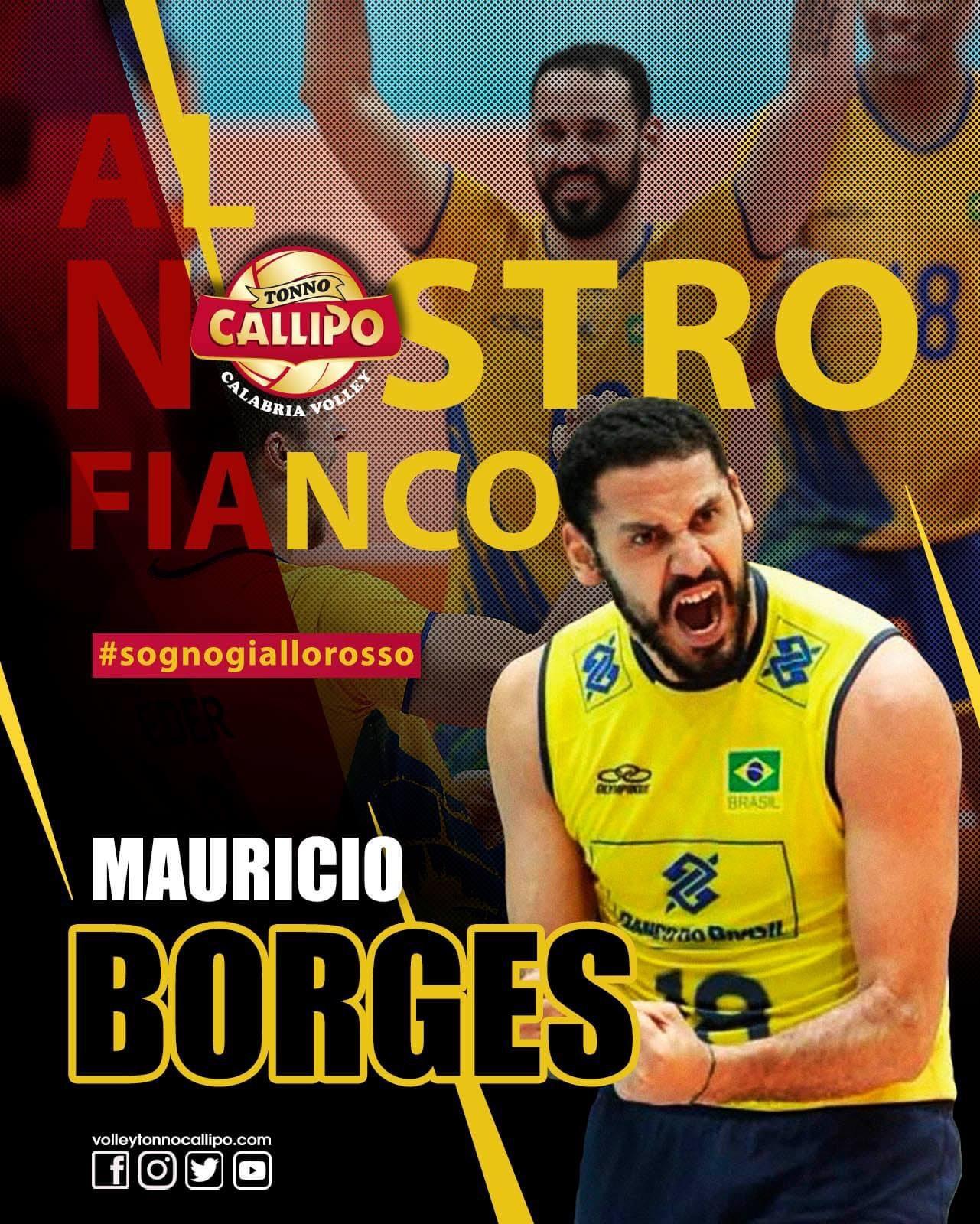 Italy: it's official! MVP of last Brazilian Superliga Maurício Borges lands in Vibo