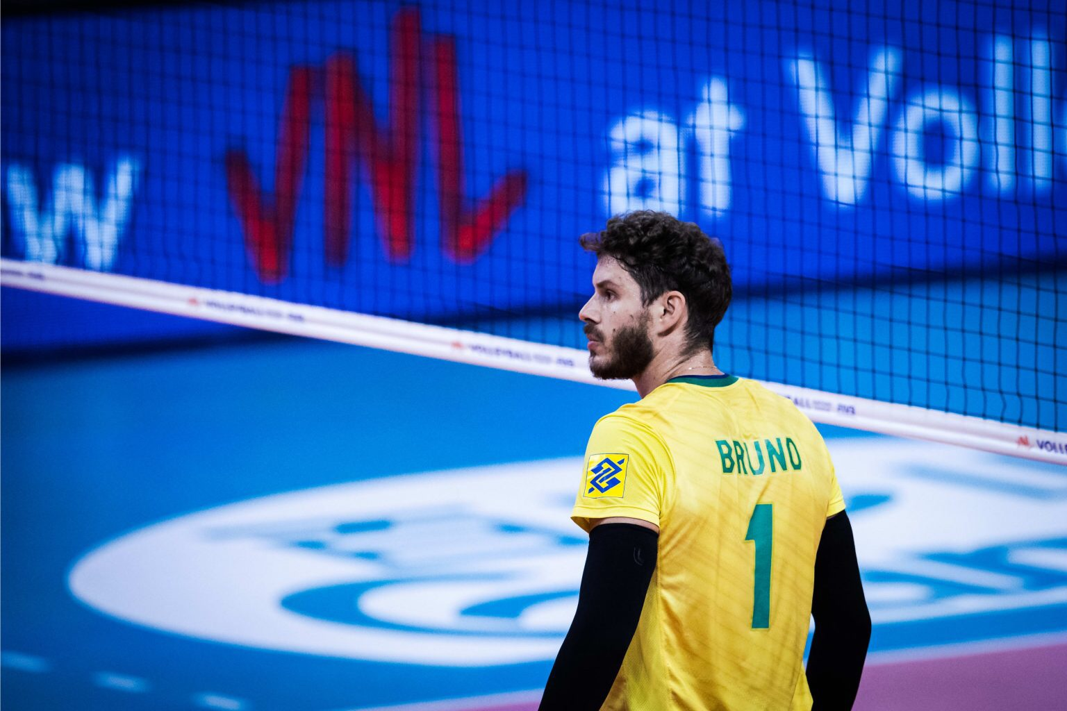 Another volleyball player at opening ceremony of Tokyo 2020: Bruninho