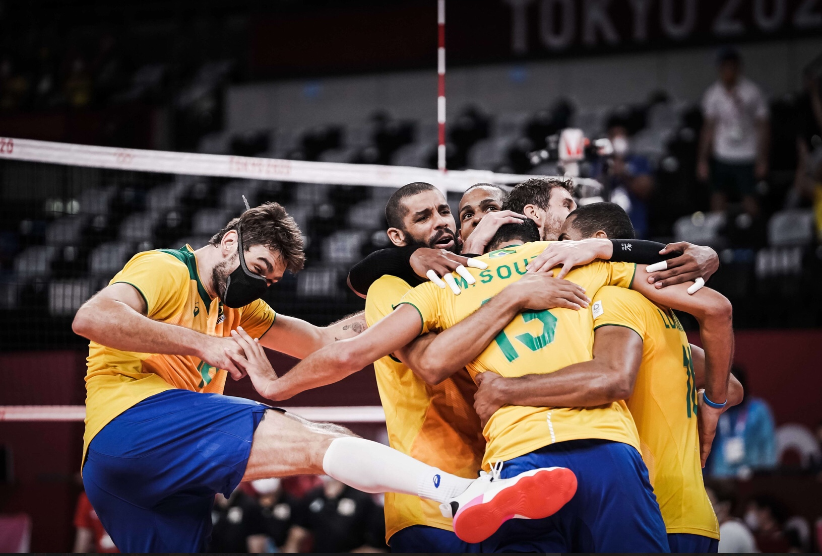 Tokyo 2020: ROC and Brazil sweep Canada and Japan to schedule head-to-head in semis!