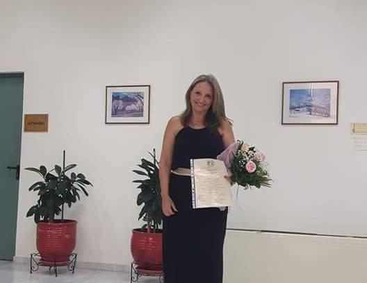 Κατερίνα Γαργάλα: Μια γυναίκα όλα τα μπορεί! Πήρε και δεύτερο πτυχίο!