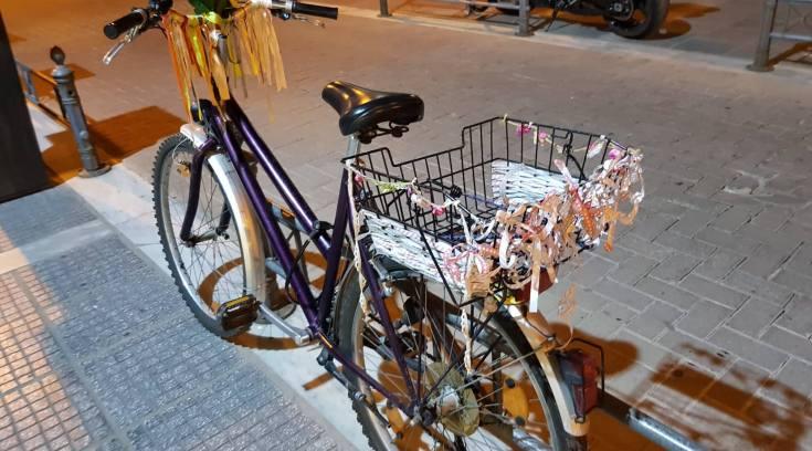 Ποδήλατο μεταμορφώθηκε σε αριστούργημα από Βολιώτισσα!