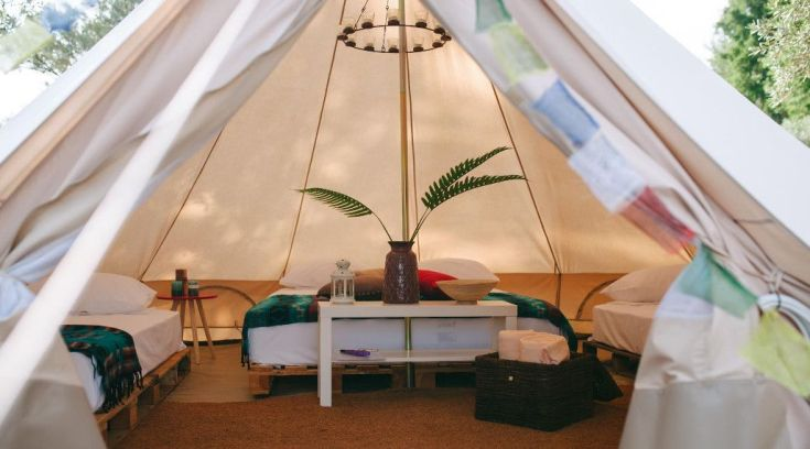 Και όμως κοντά μας έχουμε camping πολυτελείας! (ΦΩΤΟ)