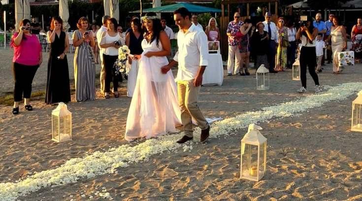 Ρομαντικός γάμος στον Άναυρο! Να ζήσετε Νίκο και Δέσποινα!