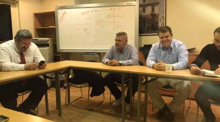 Ο Άγγελος Αγραφιώτης στη Σύσκεψη του Τομέα Προστασίας του Πολίτη του ΚΙΝΑΛ