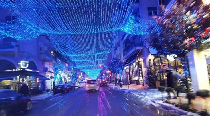 ΤΩΡΑ- ΔΕΙΤΕ εικόνες από την οδό Δημητριάδος!