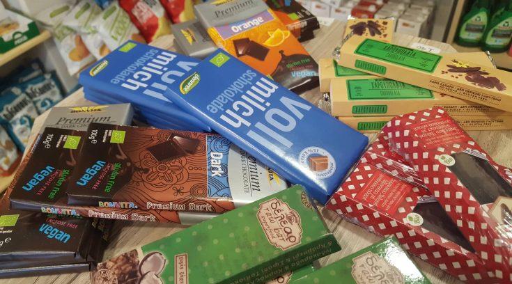 Τι σας έχω; Σοκολάτες χωρίς γλουτένη και ζάχαρη!