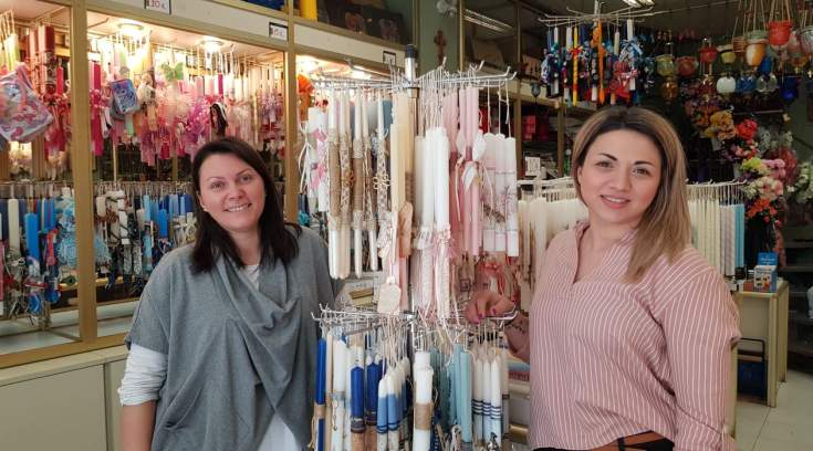 Οι πιο όμορφες λαμπάδες στο κατάστημα της Κατερίνας Γεωργακοπούλου! (ΦΩΤΟ)