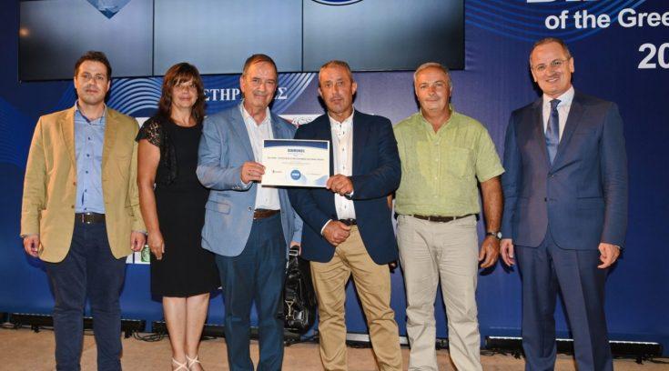 """Βραβείο για τη Μαγνησία- """"Ζagorin"""" το διαμάντι της ελληνικής οικονομίας!"""