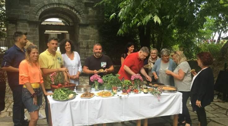 Καλίδης, Νέζος και Λουδάρος μαγείρεψαν στην Ζαγορά!