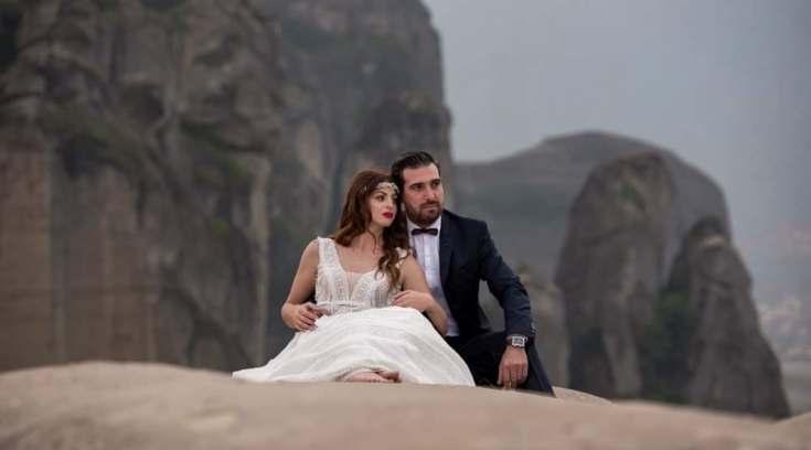 Ένας γάμος στα Μετέωρα μέσα από τον φακός της Βάσως Παππά!