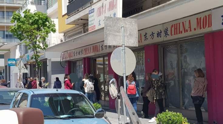 Ουρές στα ATM του Βόλου χωρίς αποστάσεις ασφαλείας και μ εντάσεις!