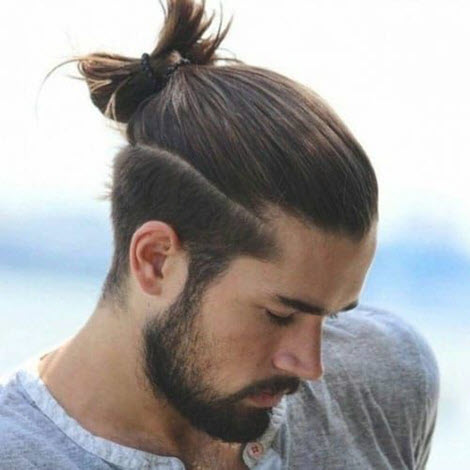 Men's haircuts and hairstyles for long hair: photo 2020