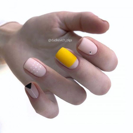 Fotografia de Stock Manicure na moda