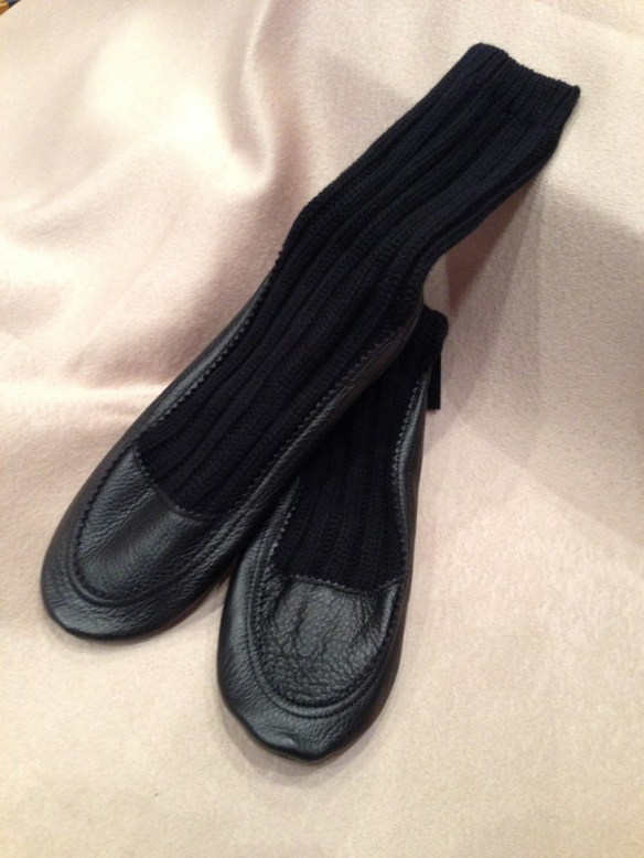 Cashmere Slippers 2