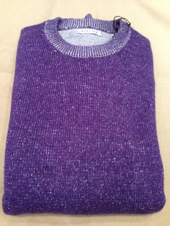 Purple Cashmere and Cotton