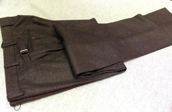 Dark Brown Flannel
