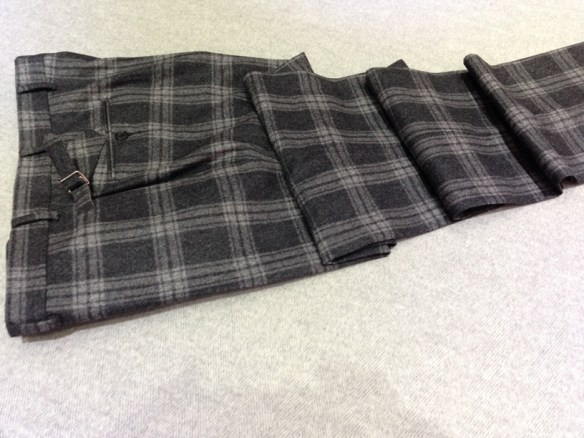 Dark Grey Check Flannel