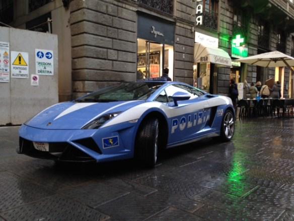 Polizia? Only in Italy!